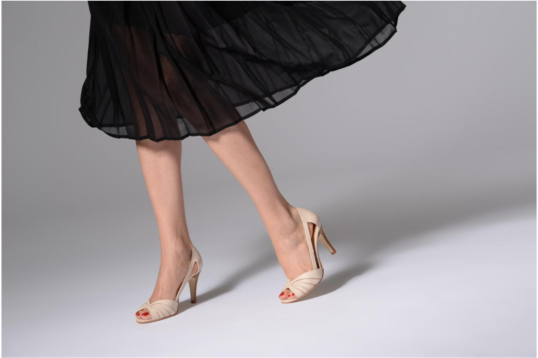 Sandales et nu-pieds Jonak DAGILO Beige vue bas / vue portée sac