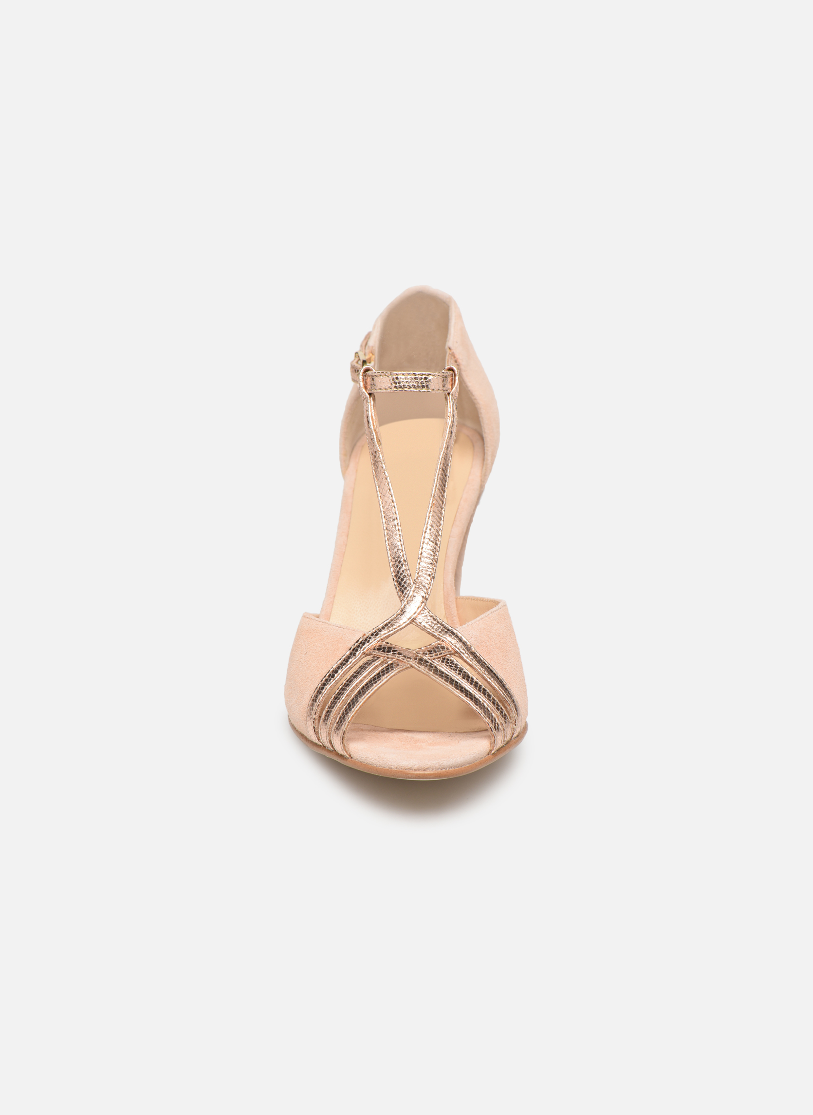 Escarpins Jonak DIAN Rose vue portées chaussures