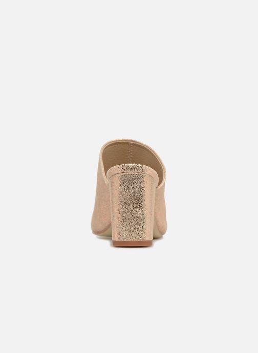 Mules et sabots Jonak DECHA Or et bronze vue droite