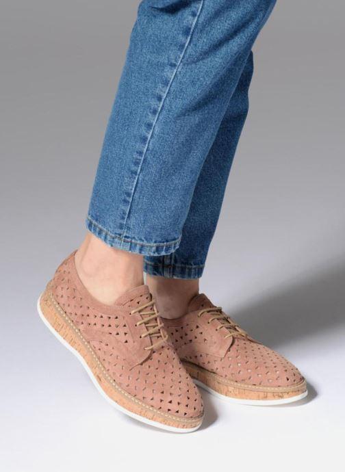 Zapatos con cordones Jonak MALOU Rosa vista de abajo