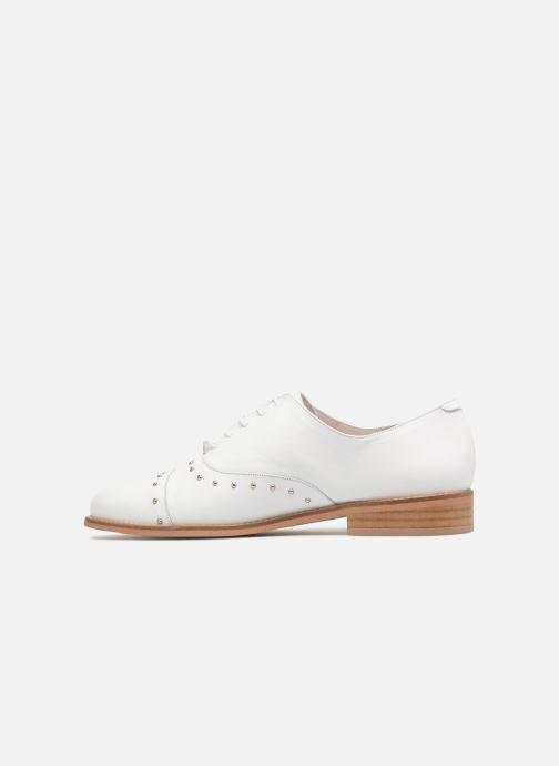 Zapatos con cordones Jonak DOMUS Blanco vista de frente