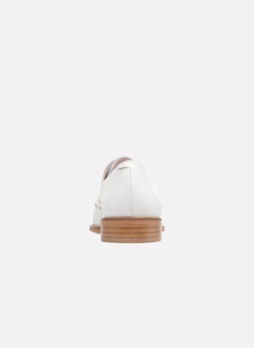 Zapatos con cordones Jonak DOMUS Blanco vista lateral derecha