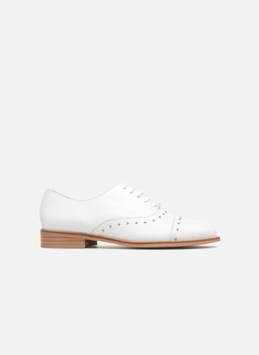 Lace-up shoes Jonak DOMUS White back view