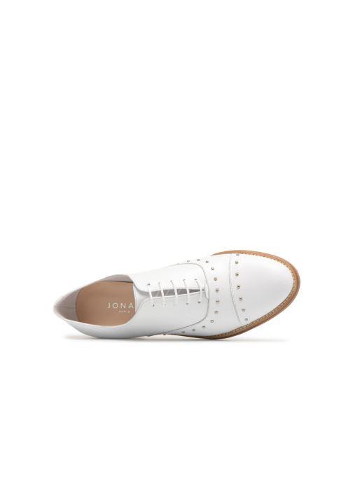 Zapatos con cordones Jonak DOMUS Blanco vista lateral izquierda