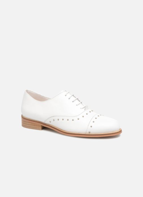 Lace-up shoes Jonak DOMUS White detailed view/ Pair view