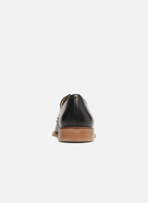 Zapatos con cordones Jonak DOMUS Negro vista lateral derecha