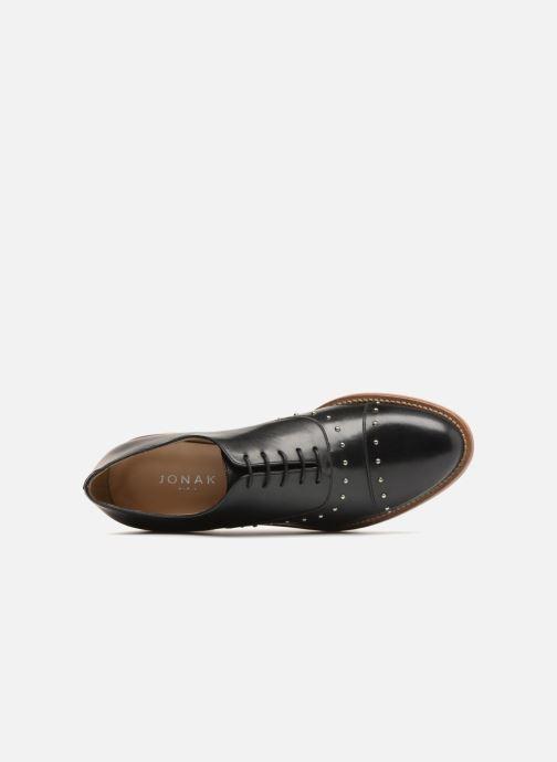 Zapatos con cordones Jonak DOMUS Negro vista lateral izquierda
