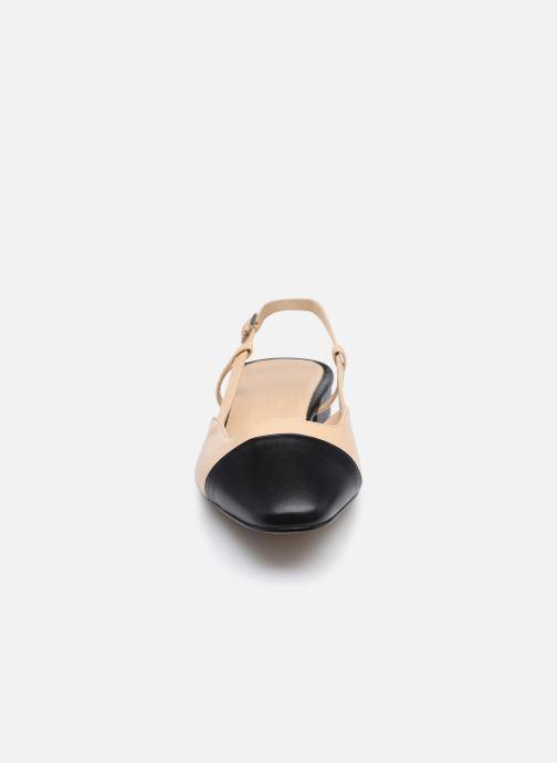 Escarpins Jonak DHAPOU Beige vue portées chaussures