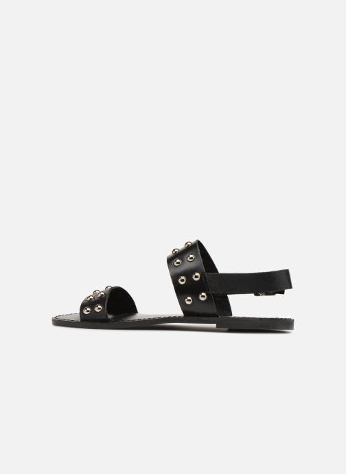 Sandales et nu-pieds Jonak SHADOW Noir vue face