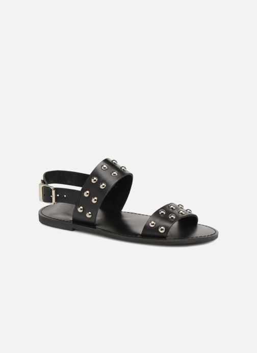 Sandales et nu-pieds Jonak SHADOW Noir vue détail/paire