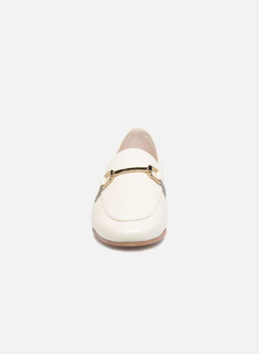 Mocassins Jonak SEMPRE Blanc vue portées chaussures