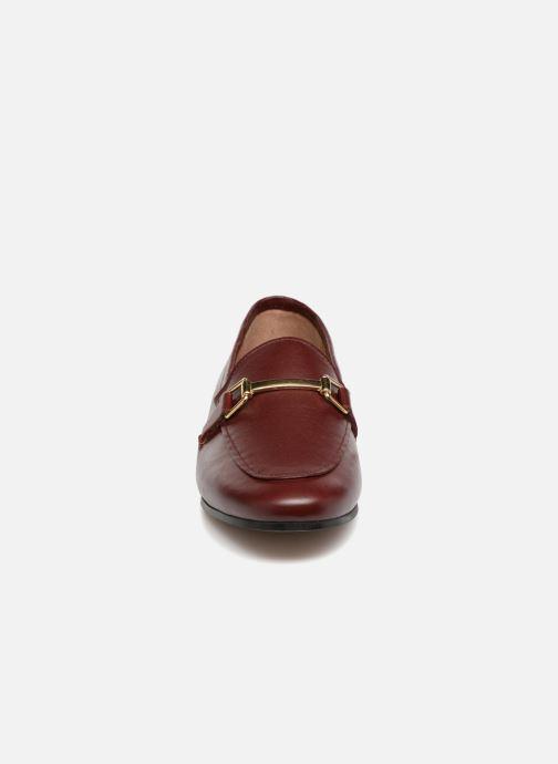 Mocassins Jonak SEMPRE Bordeaux vue portées chaussures