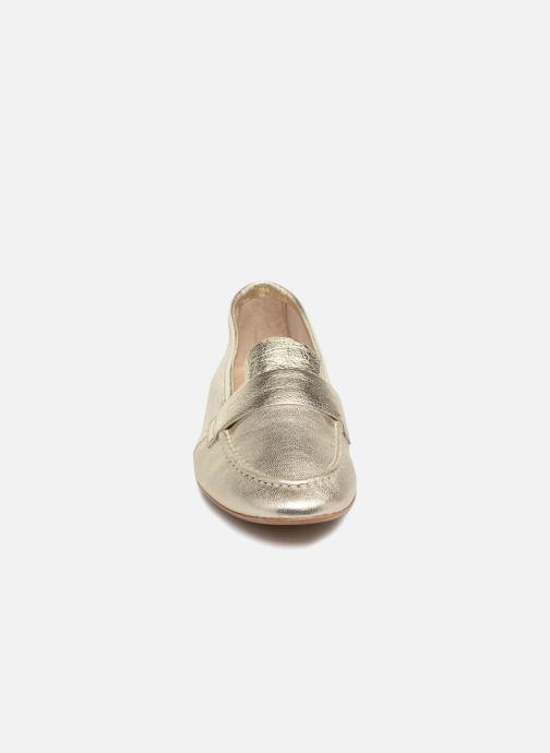 Mocassins Jonak MIKI 3030 Or et bronze vue portées chaussures