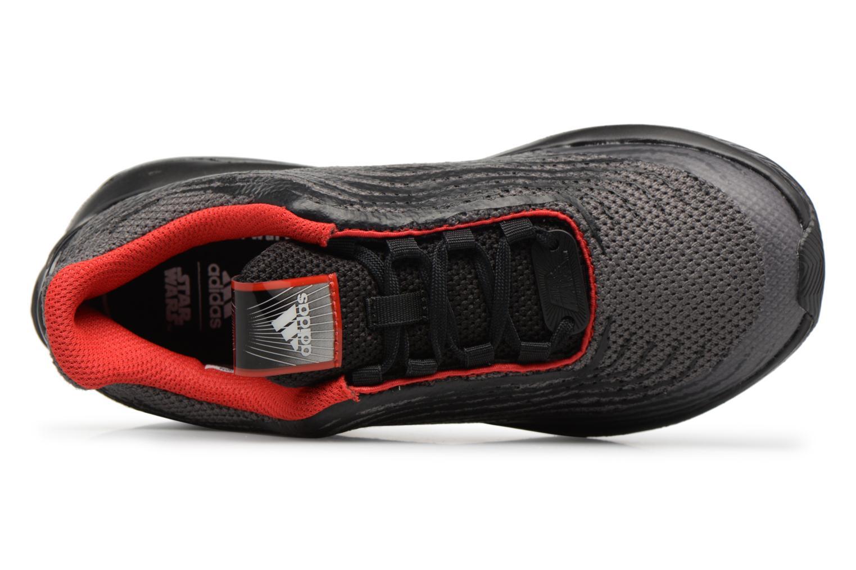 Baskets Adidas Performance StarWars Rapidarun K Noir vue gauche