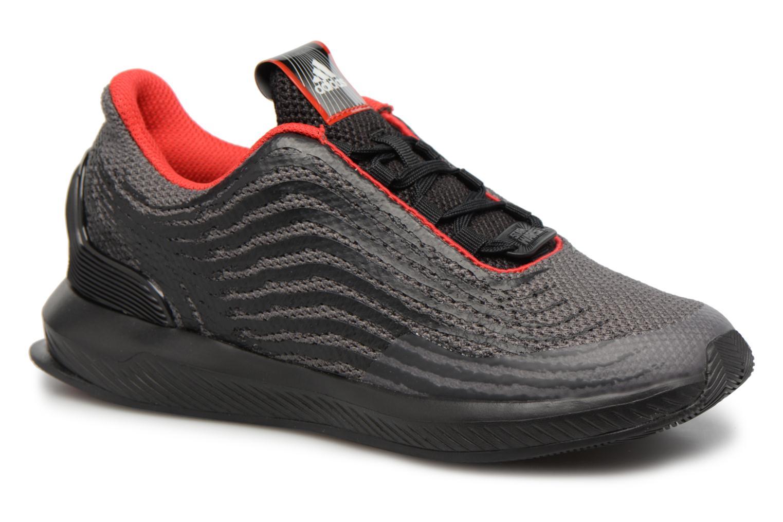 Baskets Adidas Performance StarWars Rapidarun K Noir vue détail/paire