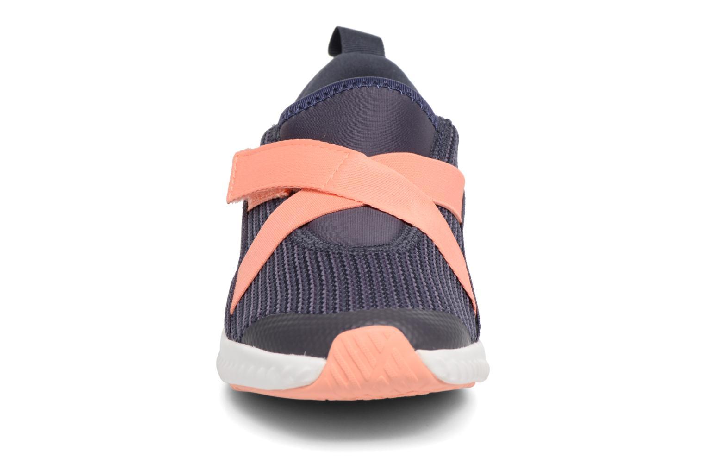 Baskets Adidas Performance Fortarun X CF K Gris vue portées chaussures