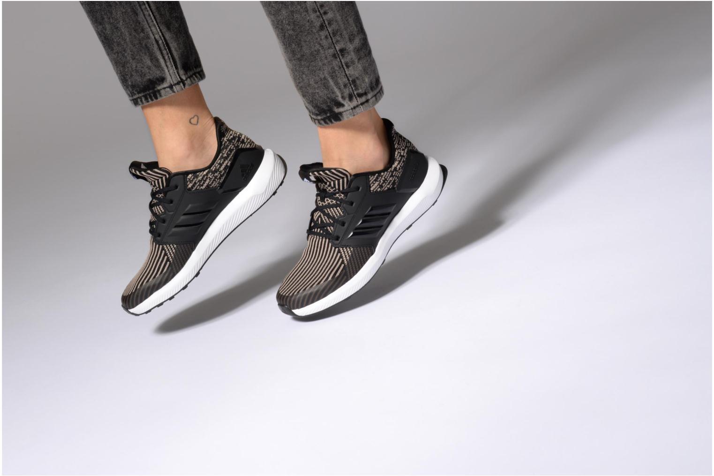 Scarpe sportive Adidas Performance Rapidarun KNIT J Nero immagine dal basso