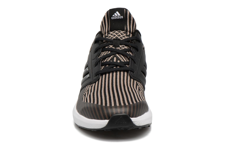 Scarpe sportive Adidas Performance Rapidarun KNIT J Nero modello indossato