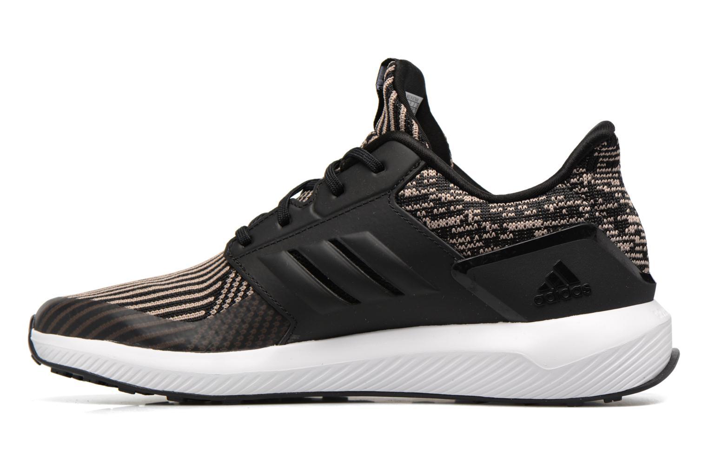 Scarpe sportive Adidas Performance Rapidarun KNIT J Nero immagine frontale