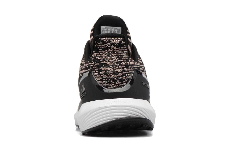 Chaussures de sport Adidas Performance Rapidarun KNIT J Noir vue droite