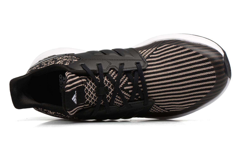 Scarpe sportive Adidas Performance Rapidarun KNIT J Nero immagine sinistra