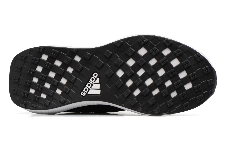 Chaussures de sport Adidas Performance Rapidarun KNIT J Noir vue haut