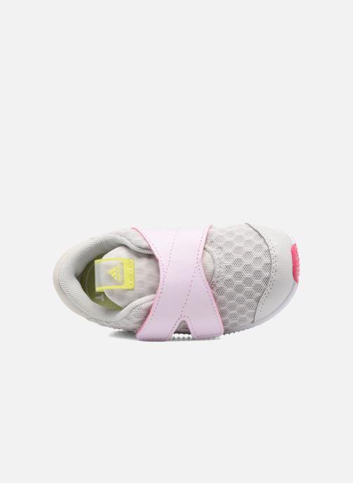Chaussures de sport adidas performance Fortarun X Cool CF I Gris vue gauche