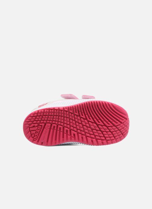 Chaussures de sport adidas performance Fortarun X Cool CF I Gris vue haut