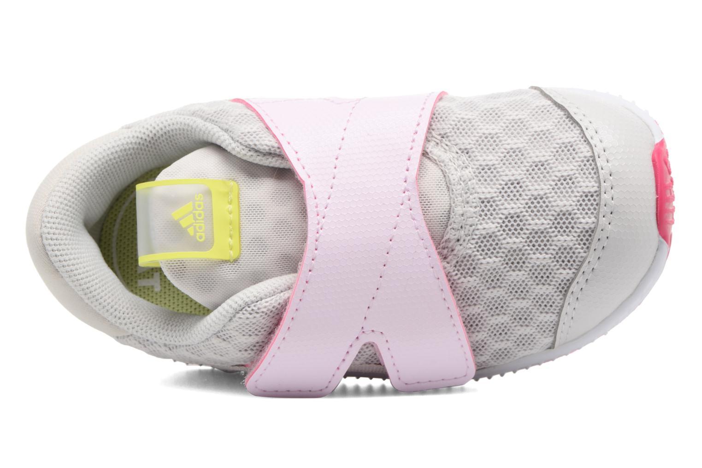 Sportschuhe Adidas Performance Fortarun X Cool CF I grau ansicht von links