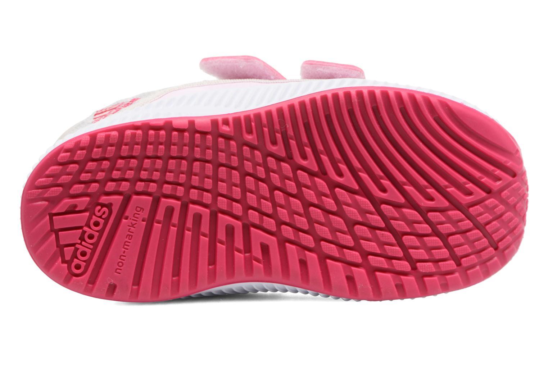 Sportschuhe Adidas Performance Fortarun X Cool CF I grau ansicht von oben