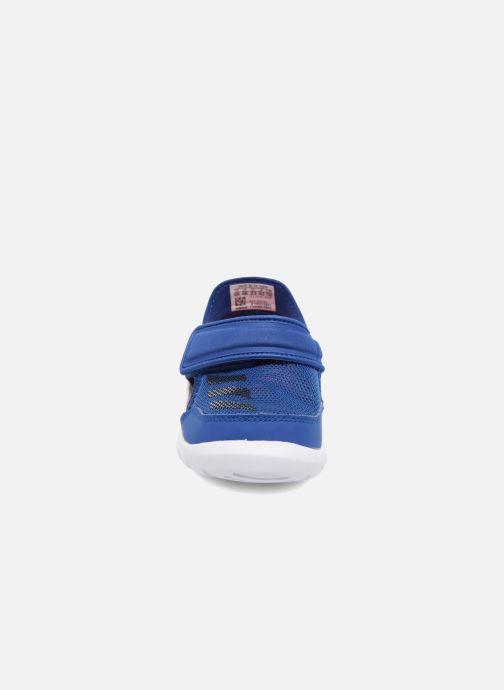 Sandales et nu-pieds adidas performance Fortaswim I Bleu vue portées chaussures