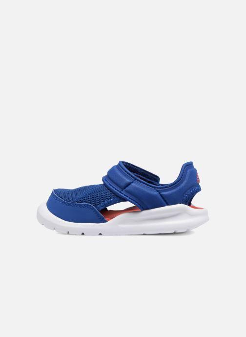 Sandales et nu-pieds adidas performance Fortaswim I Bleu vue face