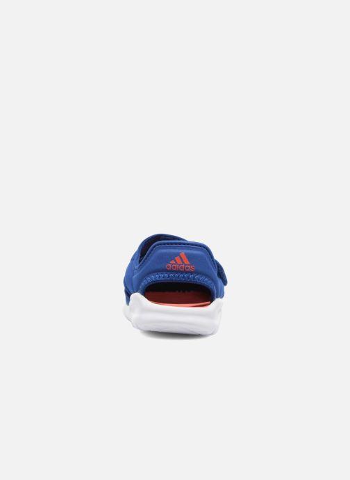 Sandales et nu-pieds adidas performance Fortaswim I Bleu vue droite