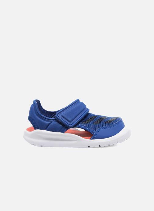 Sandales et nu-pieds adidas performance Fortaswim I Bleu vue derrière