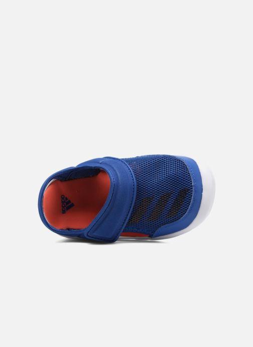 Sandales et nu-pieds adidas performance Fortaswim I Bleu vue gauche