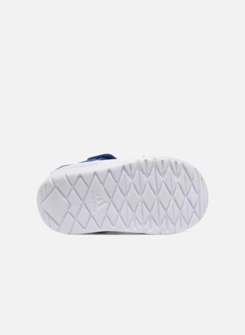 Sandales et nu-pieds adidas performance Fortaswim I Bleu vue haut