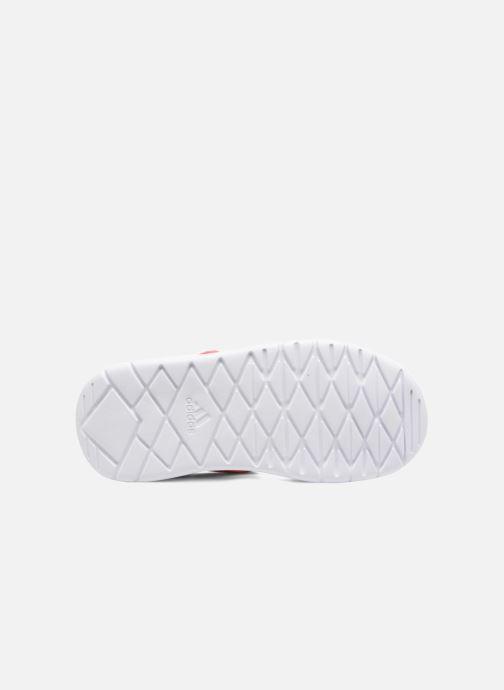 Sandalias adidas performance Fortaswim C Rosa vista de arriba