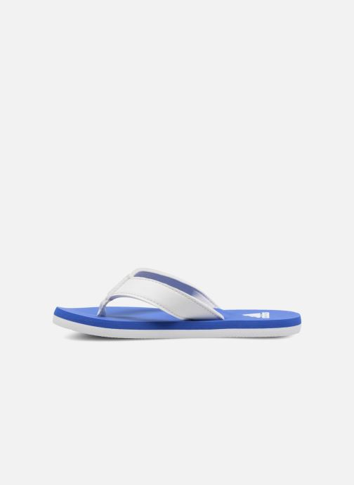 Chanclas adidas performance Beach Thong 2 K Azul vista de frente