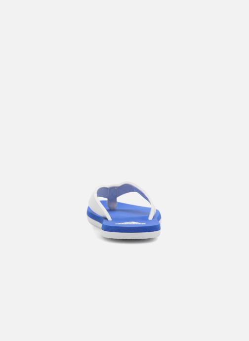 Chanclas adidas performance Beach Thong 2 K Azul vista lateral derecha