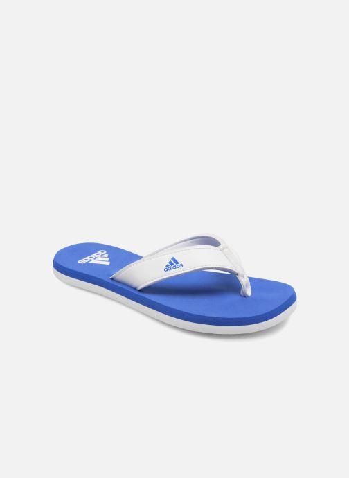 new product ff4a6 69f3e Flip flops  klipklapper Adidas Performance Beach Thong 2 K Blå detaljeret  billede af skoene