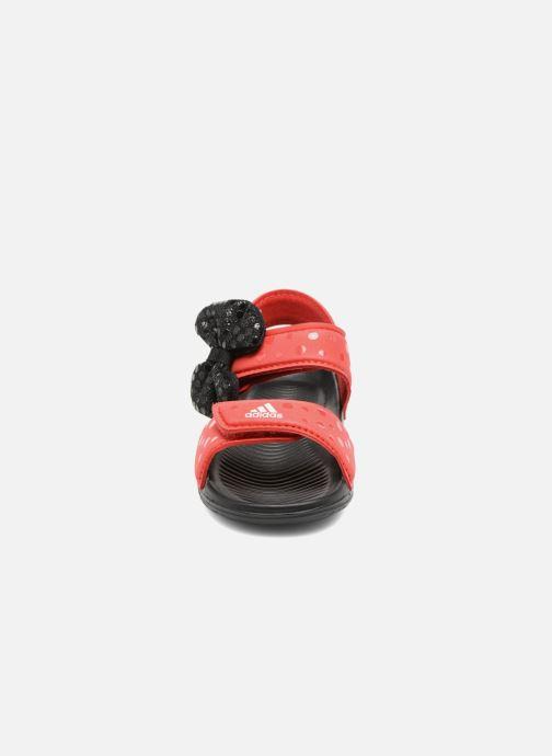 Sandales et nu-pieds adidas performance DY M&M Altaswim I Rouge vue portées chaussures