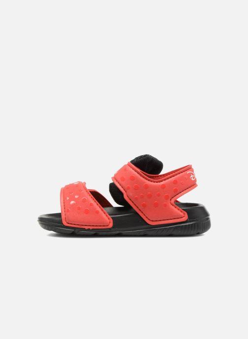Sandales et nu-pieds adidas performance DY M&M Altaswim I Rouge vue face