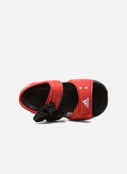 Sandales et nu-pieds adidas performance DY M&M Altaswim I Rouge vue gauche