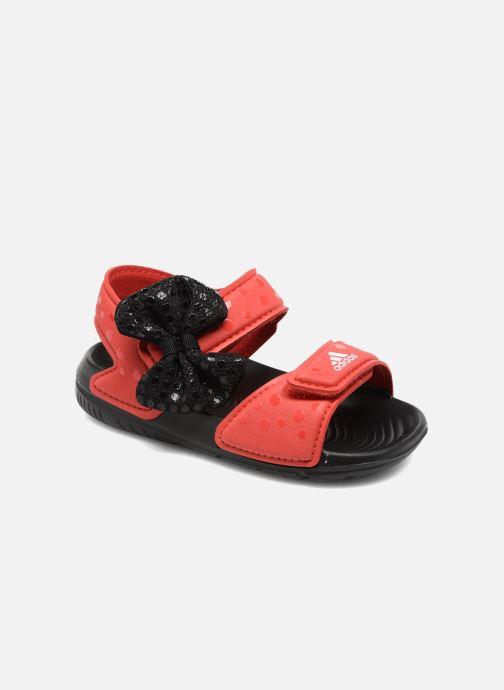 Sandales et nu-pieds adidas performance DY M&M Altaswim I Rouge vue détail/paire