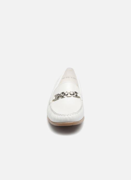 Mocassini Ara New Jersey 42234 Bianco modello indossato