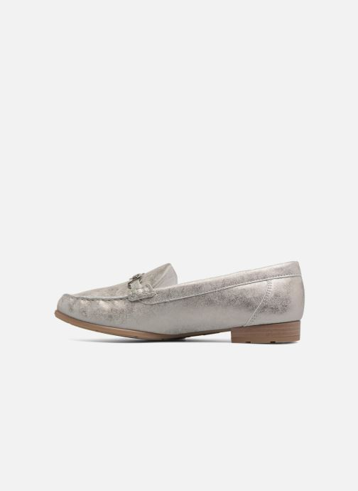 Mocassins Ara New Jersey 42234 Gris vue face