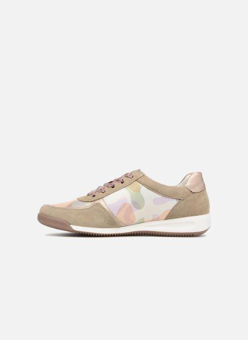 Sneaker Ara Rom 44443 beige ansicht von vorne