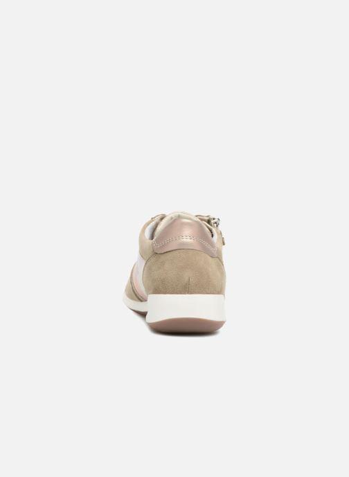 Sneaker Ara Rom 44443 beige ansicht von rechts