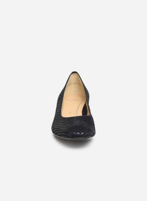 Escarpins Ara Milano 36801 Bleu vue portées chaussures