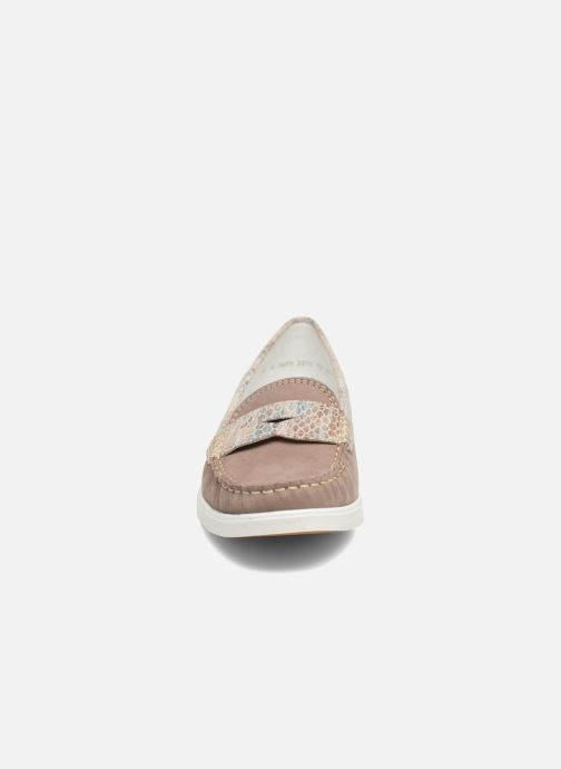 Slipper Ara Monte 30813 grau schuhe getragen